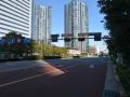 豊洲駅徒歩11分。2015年1月新築物件です。公園目の前の静かなマンションです。
